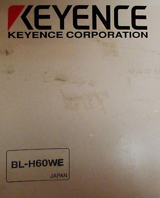 Keyence Bl H60we Bl 600 Series Laser Bar Code Reader Manual And Cd Software