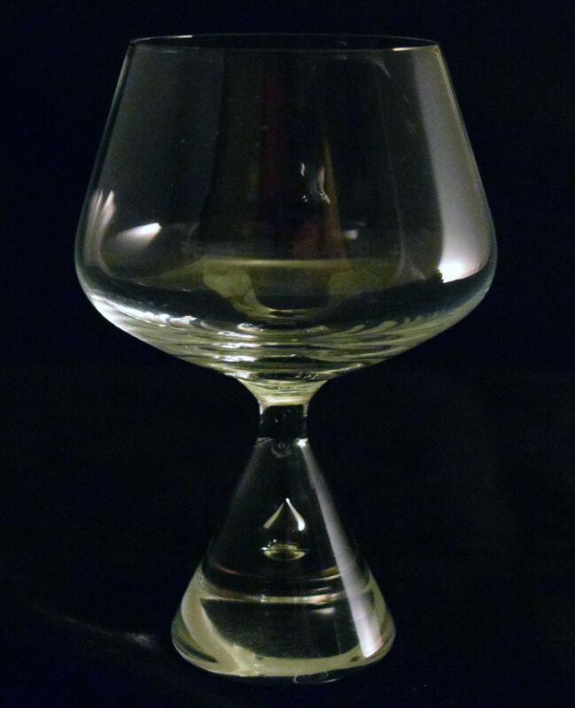 Holmegaard Princess brandy glass / congac glass hand-blown mid-century
