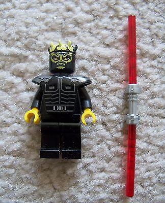 Lego Star Wars Clone Wars Rare - Savage Opress W/Double Lame Sabre