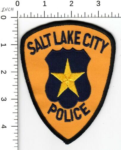 SALT LAKE CITY (OLDER VERSION) POLICE SHOULDER PATCH UTAH TU