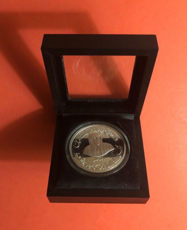 2005 -UAE ( UNITED ARAB EMIRATES ),100 DIRHAM COMMEMORATIVE SILVER COIN..RARE