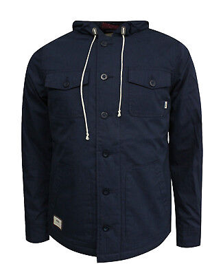 Vans Off The Wall Lismore Deluxe Coat Mens Winter Jacket Navy VYWCADI A113C