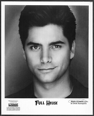~ John Stamos Full House 1990 Original Promo Portrait Photo