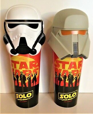 Star Wars  Solo Movie Theater Exclusive 44 Oz Cup With Character Lid Set