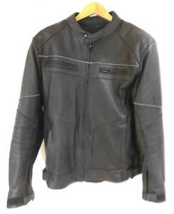Mens motor cycle leather jacket. TORQUE. as new size L