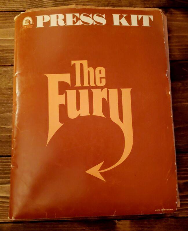 "1978 ""THE FURY"" Brian DePalma Horror MOVIE PRESS KIT With (31) Photos In FOLDER"
