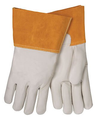 Tillman 1355xs Unlined Cowhide Mig Welding Gloves 4 Cuff X-small