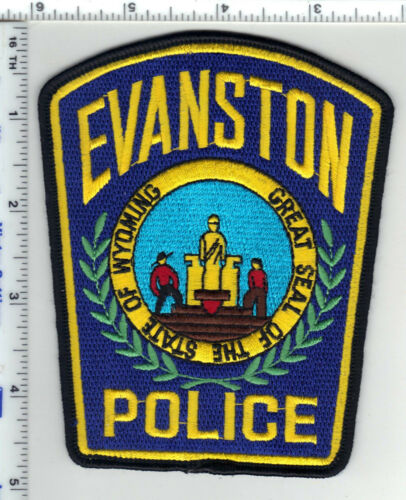 Evanston Police (Wyoming) 3rd Issue Shoulder Patch