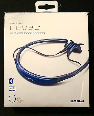 Samsung Level U EO-BG920 Bluetooth Wireless In-Ear Headphones - Sapphire