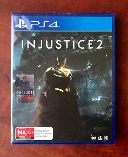 Ps4. Injustice 2. Excellent Condition $45 or Swap/Trade