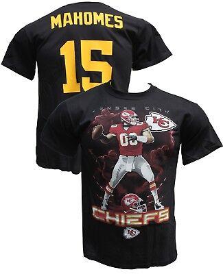 City Shirts (Authentic NFL Kansas City Chiefs QuaterbackT-Shirt, Pat Mahomes)