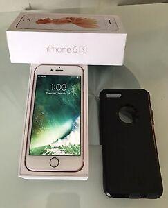iPhone 6S 16GB Rose Gold in perfect condition- Unlocked