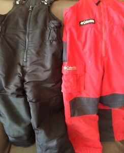 columbia and gusti snowpants