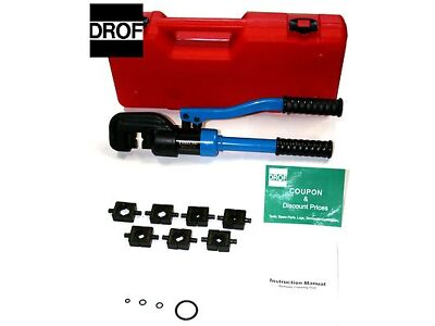 12 TON Hydraulic Crimper Crimping Tool FREE SHIPPING IN USA AND PUERTO RICO