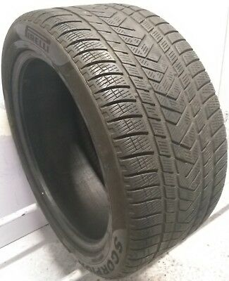 1 3153520 Pirelli 3.5mm + Runflat RSC 315 35 20 Used Part Worn Winter Tyre x1