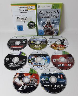 Spiele Sammlung | Paket Xbox 360 | 10 Spiele | Assassins Creed Brotherhood Pure