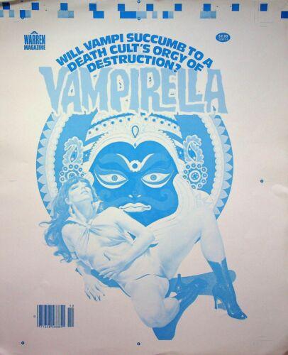 VAMPIRELLA #82 Warren Publishing Master Jose Jose Gonzalez RARE Cover Proof  #WA