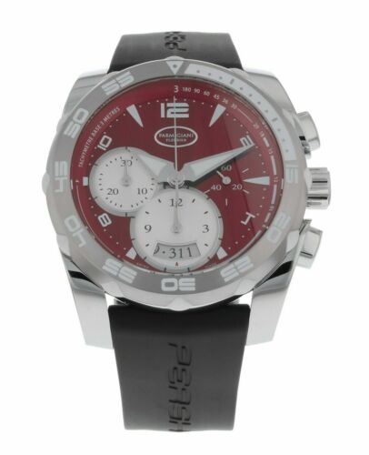 Parmigiani Fleurier Pershing 002 Chronograph Red Dial Men's Automatic Watch - watch picture 1