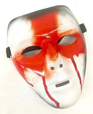 Die Erste Säuberung Maske England-Flagge Halloween Film Horror Kostüm St ()