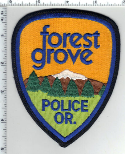 Forest Grove Police (Oregon) Shoulder Patch - new from the 1980