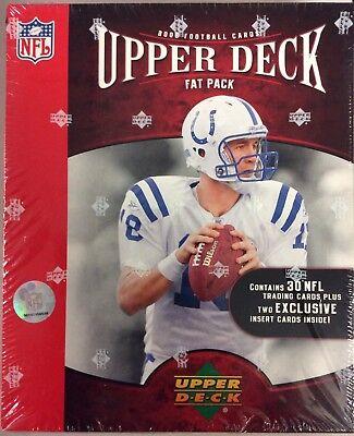 2006 Upper Deck Football Factory Sealed Fat Pack Box 24 Packs 32 (2006 Fat)
