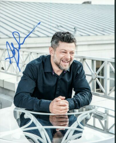 Andy Serkis Autographed Signed 8x10 Photo COA 2019-8