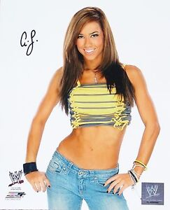 WWE-AJ-LEE-AUTOGRAPH-SIGNED-PHOTO-4-WITH-SIGNING-PICTURE-PROOF