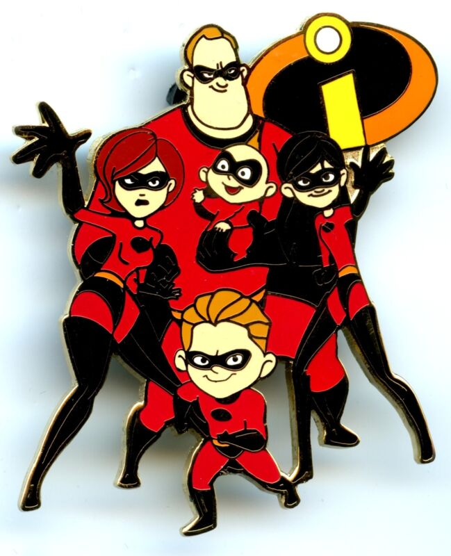 Disney Auctions - The Incredibles - Parr Family Pin (LE 100)