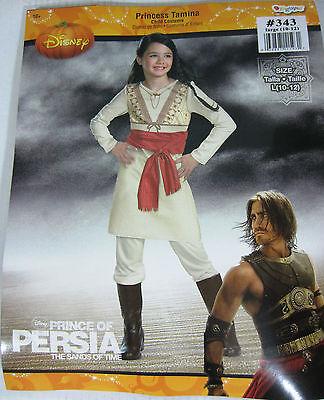 Disney Princes Costume (Disney Prince of Persia Princess Tamina Child Costume - Girls Large)
