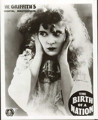 "The Birth of a Nation (1915) Mae Marsh, Dixie Film Exchange, 8""x10"" still"