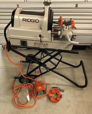 Ridgid 1822 Auto Pipe Threader Rolling Cart 811 Die Head 1224300700