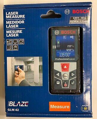 Bosch Blaze Glm 42 Laser Measure 135 Ft. New Sealed