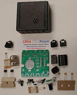 Ham Radio Cw Memory Keyer Kit Ultra-pk Small Easy Program...