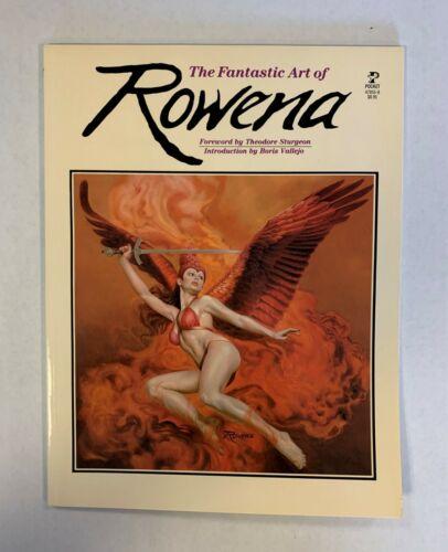 The Fantastic Art Of Rowena 1983 Boris Vallejo introduction