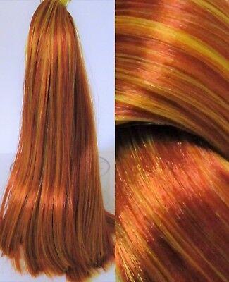 PEBBLES Nylon Doll Hair for Doll & Pony Rerooting/Wig - Pebbles Wig