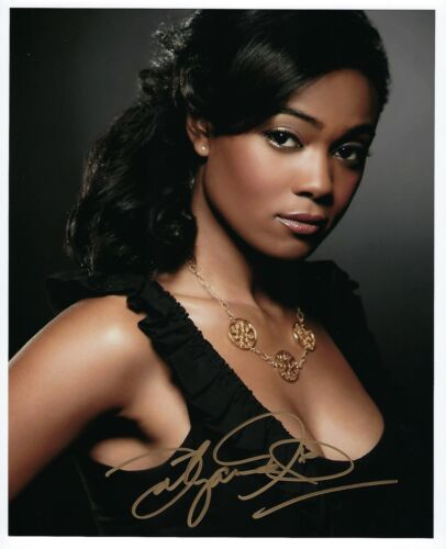 Tatyana Ali signed photo