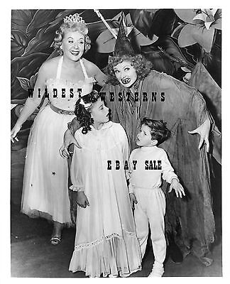 LUCILLE BALL Vintage Photo I LOVE LUCY PHOTO Halloween VIVIAN VANCE Witch Fairy