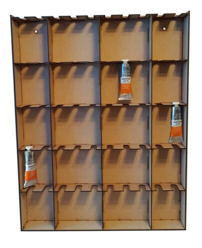 PAINT+STORAGE+RACK+HOLDS+100+x+37ml+WINDSOR+%26+NEWTON+PAINTS%21+EACH+SLOT+HOLDS+2