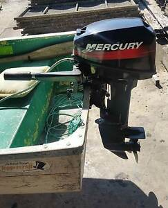 Mercury Outboard Engine 15hp tinnie dehavilland trailer Tuncurry Great Lakes Area Preview