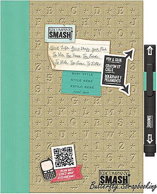 Baby Smash Scrapbook Journal Album K&company