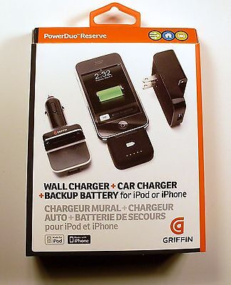 Griffin Technology Powerduo Reserve Wall And Car Charger ...