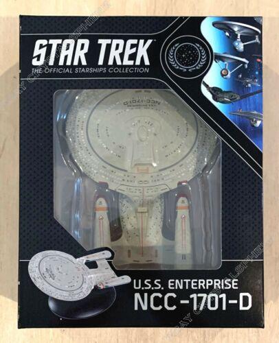 Star Trek USS Enterprise NCC-1701-D Ship - Best Of Eaglemoss Official Starships