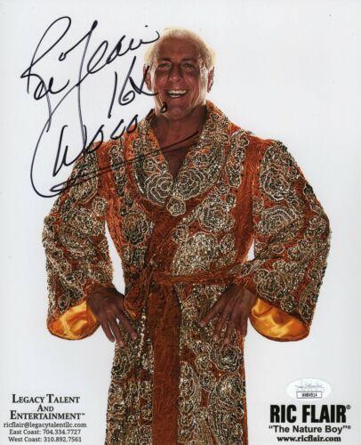 Ric Flair Autograph Signed 8x10 Photo - WCW WWF WWE (JSA COA)