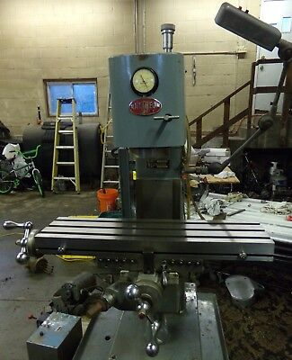 Clausing 8512 Vertical Mill Milling Machine 8520 Variant - Raytheon Water Jet