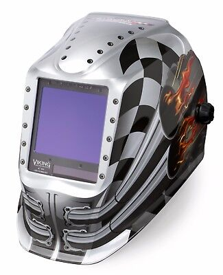 Lincoln Electric Viking 3350 Motorhead Auto-darkening Welding Helmet K3100-3