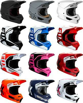 Fox Racing V1 Helmet - MX Motocross Dirt Bike Off-Road ATV UTV MTB Men Women