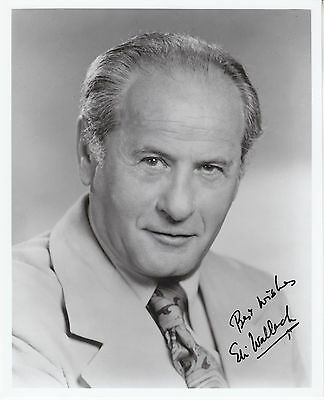 """ELI WALLACH hand signed autographed 8x10 photo photograph ]  """"Best wishes"""""""