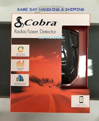 COBRA ESR-755 360 درجة رادار سيارة الشرطة / كاشف الليزر ~ تنبيه أمان 12 نطاقًا