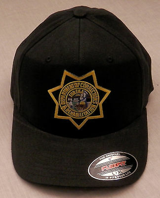 CDCR California Dept of Corrections & Rehabilitation FLEXFIT baseball cap L/XL