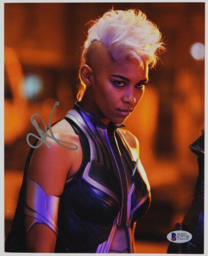 Alexandra Shipp X-Men Autograph Signed Photo Beckett BAS Photo